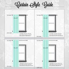1000 ideas about curtain length on curtains