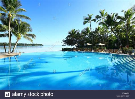 new caledonia isle of pines oro bay le meridien stock photo royalty free image
