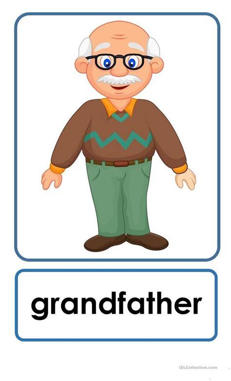 family flashcards   flashcards  kids