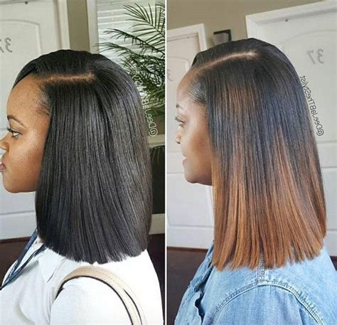long bob sew in hairstyles hair