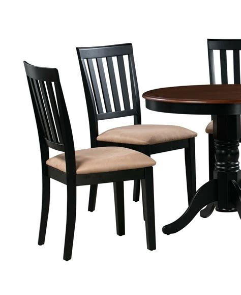 Kitchen Chairs by Set Of 4 Kitchen Dining Side Chairs W Soft Padded Seat In