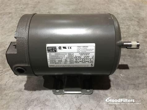 Single Phase .50 HP Motor