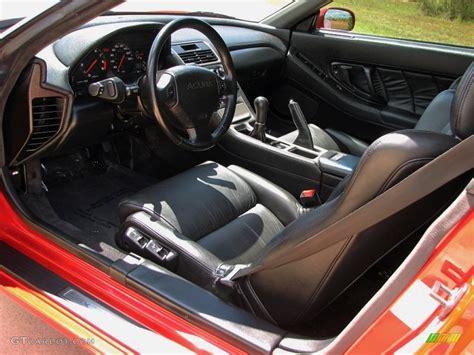 Black Interior 1991 Acura Nsx Standard Nsx Model Photo