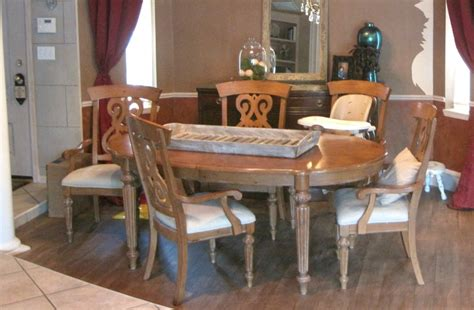 milk paint dining room table painted furniture