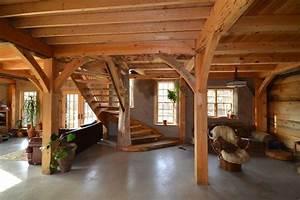 Pole barn home ideas pole barn house interior for Pole barn garage interior ideas