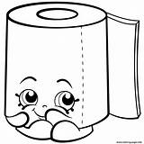 Shopkins Toilet Coloring Pages Paper Season Roll Leafy Printable Print Sweat Colouring Hopkins Drawing Drawings Shopkin Printables Info Cartoon Kawaii sketch template
