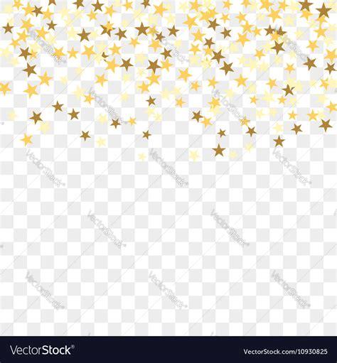 Gold Confetti Background Gold Confetti Background Royalty Free Vector Image