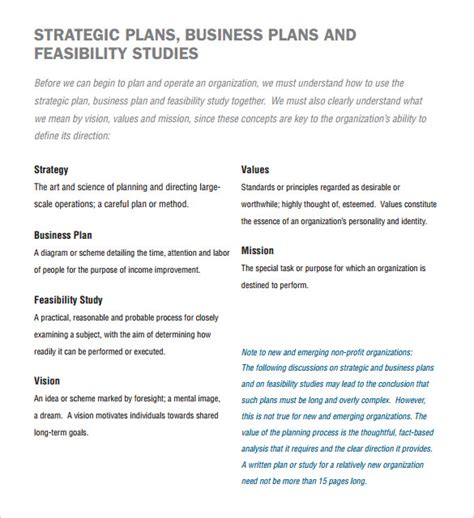 Free Business Plan Template For Non Profit Organization by 21 Non Profit Business Plan Templates Pdf Doc Free