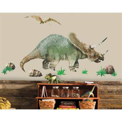 dino large wall stickers boys wall stickers roommates