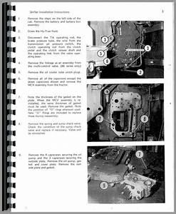 Farmall 706 Tractor M U0026w Tenderfoot Shifter Parts Manual
