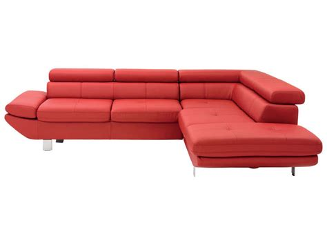 canapé d 39 angle fixe 5 places loft coloris en pu
