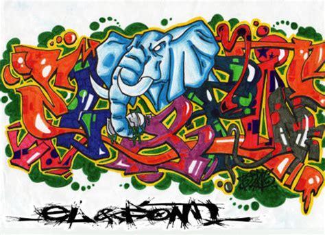 Graffiti Abjad Keren : Tipografi Desain Model Huruf