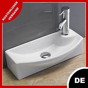 Gäste Wc Klein : waschbecken klein wandmontage g ste waschtisch pepi 45 x ~ Michelbontemps.com Haus und Dekorationen