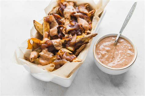 Vegan Animal Style Fries (crispy Without Oil!)