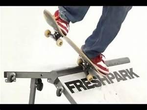 Freshpark Quarter Pipe - Freshpark.com - YouTube