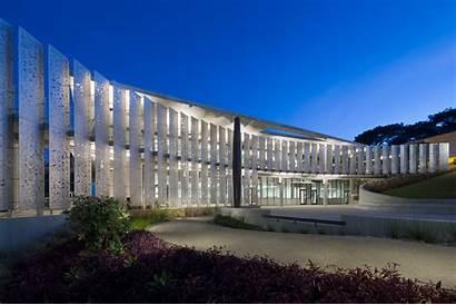 Architecture Modern Solar Point University Loma Facade