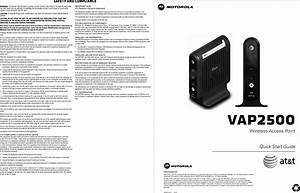 Arris Vap2500 802 11an Access Point User Manual Vap2500
