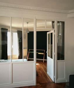 Verrière En Bois : verri re int rieur bois chambre meubles et boiseries ~ Melissatoandfro.com Idées de Décoration
