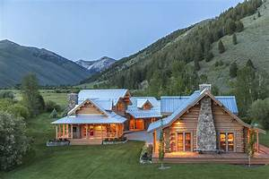 Lo splendido ranch tra le montagne dell' Idaho di Steve ...