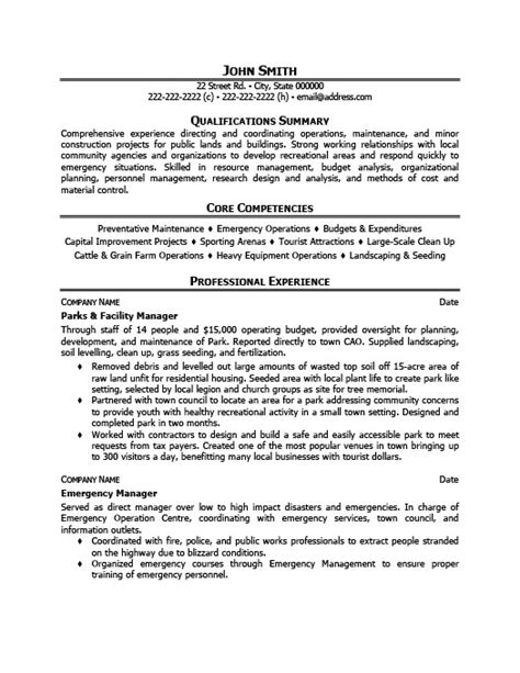 Parks And Facility Manager Resume Template  Premium. Sorority Resume Example. Sample Resumes 2014. Resume Format Australia Sample. Ssis Resume Sample. Financial Planner Resume. Resume Template Customer Service. Resume Email Cover Letter Samples. How A Resume Looks