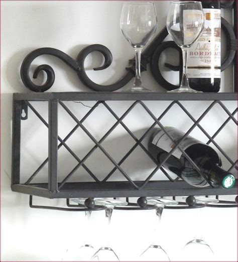 etagere mural cuisine etagere console porte bouteille verre cave a vin bar de