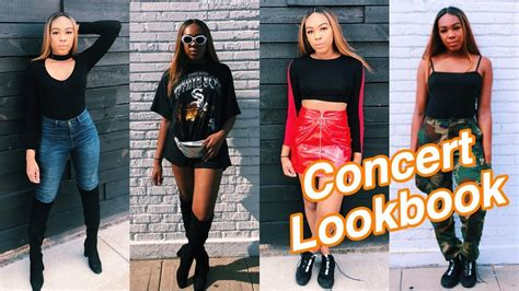 Concert Outfit Ideas Lookbook 2018 Youtube