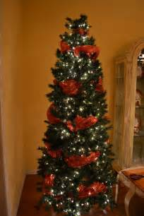 kristen s creations decorating a christmas tree with mesh ribbon tutorial