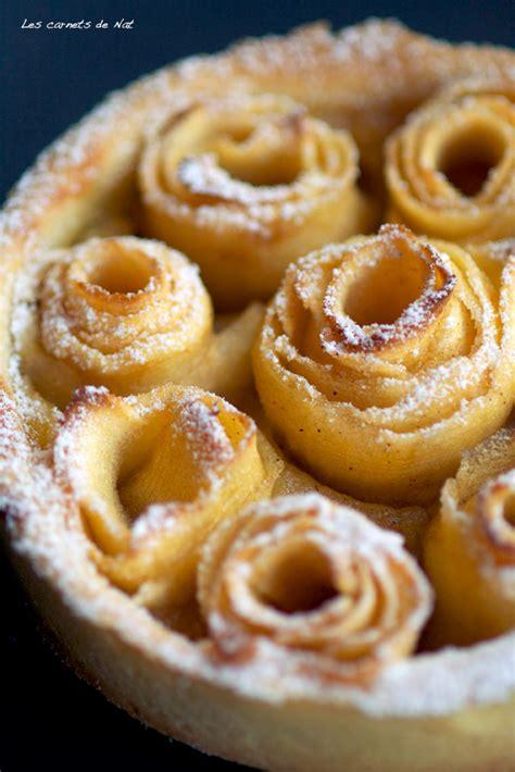 tarte aux pommes pommes en rosaces les carnets de nat