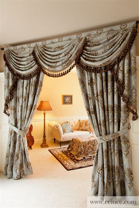 drapery valance style  theydesignnet