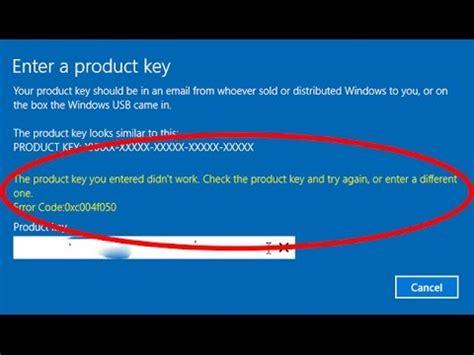 fix  product key  entered didnt work windows  error code xcf youtube