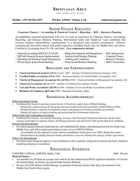 18342 accountant resume exles senior accountant resume senior accountant resume sles