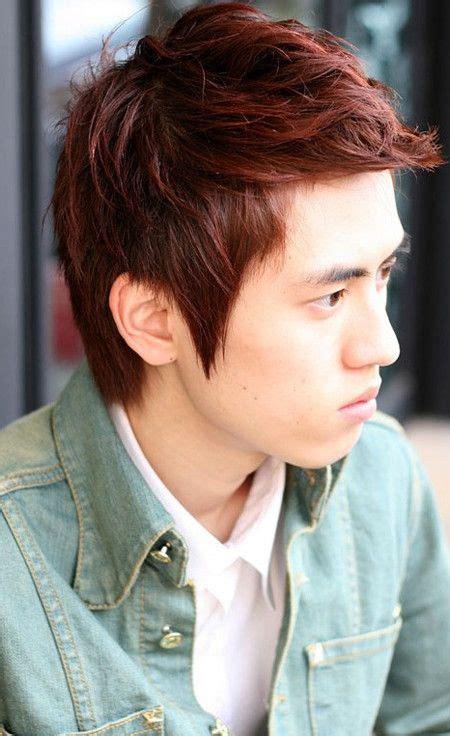 besten rote haare farbe ideen fuer maenner koreanische