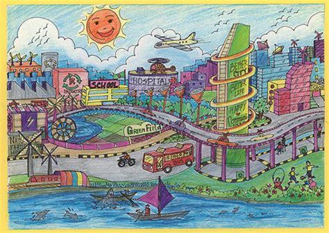 world habitat day childrens drawing contest