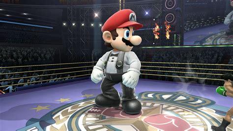 referee mario punch  super smash bros wii