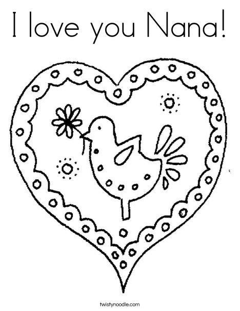 love  nana coloring page mom coloring pages mothers day coloring pages  love  grandma