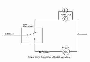 Mesin Penetas Telur Automatik  Wiring Diagram For