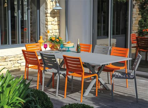 chaises de salon stunning chaise salon de jardin orange photos design