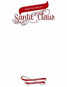 santa claus official letterhead designed by sassy With santa claus letter stationary