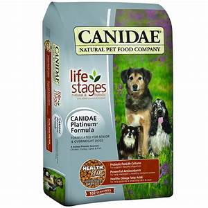 canidae platinum dog food 30 lb With candide dog food