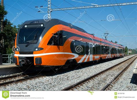 modern train royalty  stock image image
