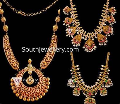 Gold Antique Necklaces Jewellers Vaibhav Jewellery Designs