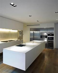 Deep System Spotlight Lux Architonic Floating Kitchen Island For Small Kitchens