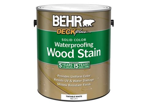 behr deck  solid color waterproofing wood stain home
