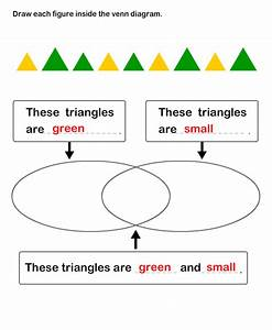 Count Objects And Create Venn Diagrams Worksheet