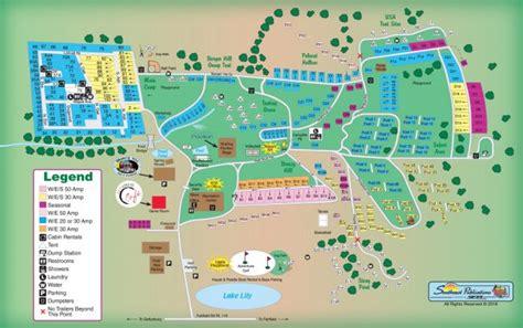 Sitemap  Granite Hill Camping Resort  Gettysburg Pa