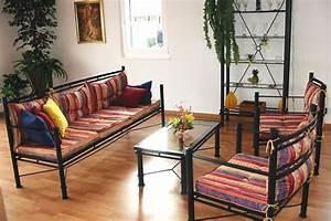 Meuble En Fer : galerie photos de foyers meubles en fer forg iron art lits chaises tables meubles de ~ Teatrodelosmanantiales.com Idées de Décoration