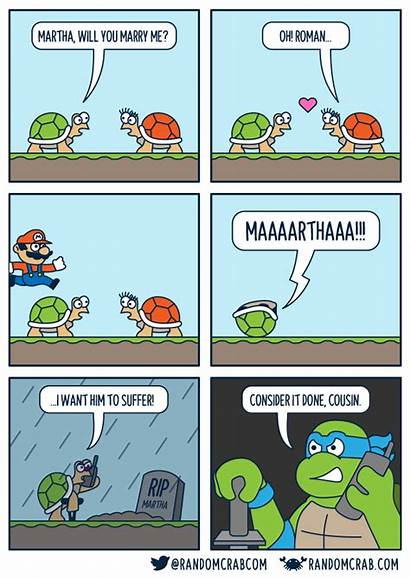 Roman Comics Crab Random Turtle Oc Cousin