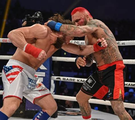 Ostovich live and official results. Chris Leben Retires After KO win in final BKFC fight