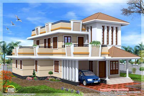 2 floor house 2326 sq 4 bedroom storey house kerala home design and floor plans