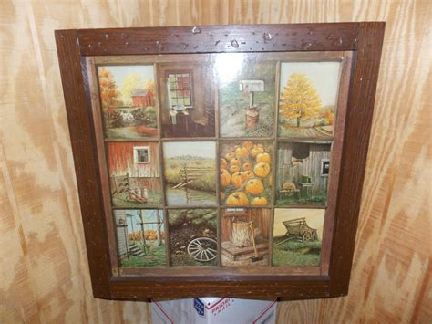 vintage home interiors vintage homco home interior interiors window pane picture